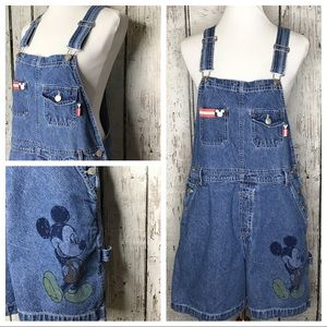 Vintage Mickey Unlimited Disney overalls